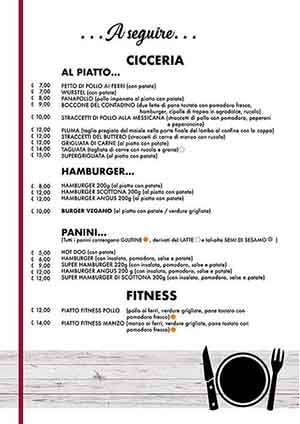 Menu Pizzeria Follonica Pagina 3 Piccolo