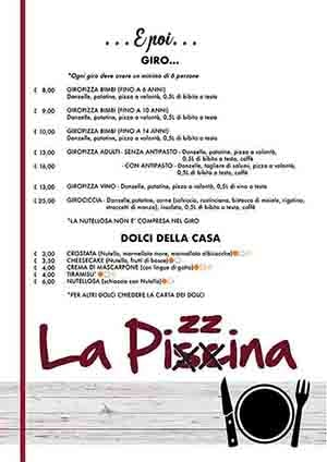 Menu Pizzeria Follonica Pagina 4 Piccolo